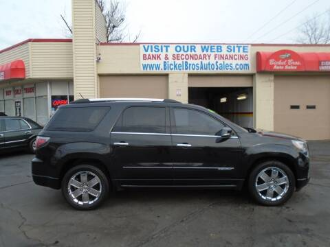 2013 GMC Acadia for sale at Bickel Bros Auto Sales, Inc in Louisville KY