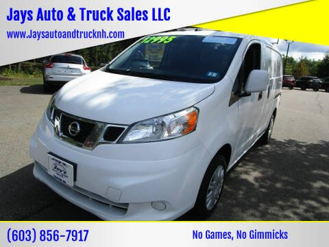 2017 Nissan NV200 for sale at Jays Auto & Truck Sales LLC in Loudon NH