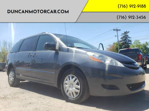 2008 Toyota Sienna for sale at DuncanMotorcar.com in Buffalo NY