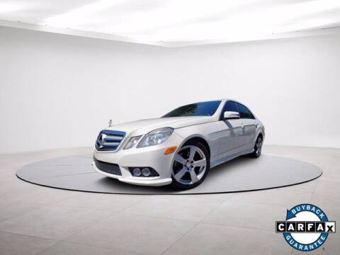 2010 Mercedes-Benz E-Class for sale at Carma Auto Group in Duluth GA