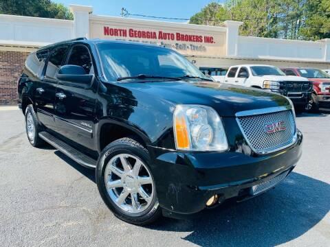 2011 GMC Yukon XL for sale at North Georgia Auto Brokers in Snellville GA