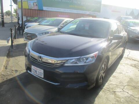 2017 Honda Accord for sale at Quick Auto Sales in Modesto CA