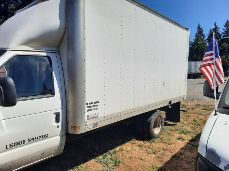 2009 Ford E-Series Chassis E-350 SD 2dr 176 in. WB DRW Cutaway Chassis - Mckenna WA