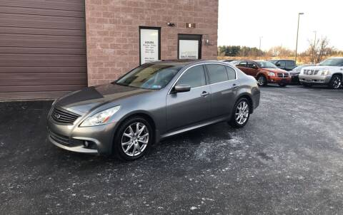 2012 Infiniti G37 Sedan for sale at CarNu  Sales in Warminster PA