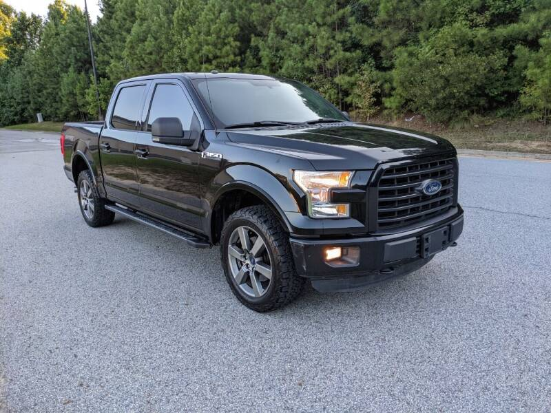 2016 Ford F-150 for sale at United Luxury Motors in Stone Mountain GA