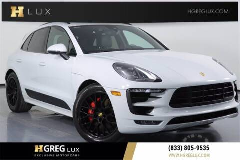 2017 Porsche Macan for sale at HGREG LUX EXCLUSIVE MOTORCARS in Pompano Beach FL