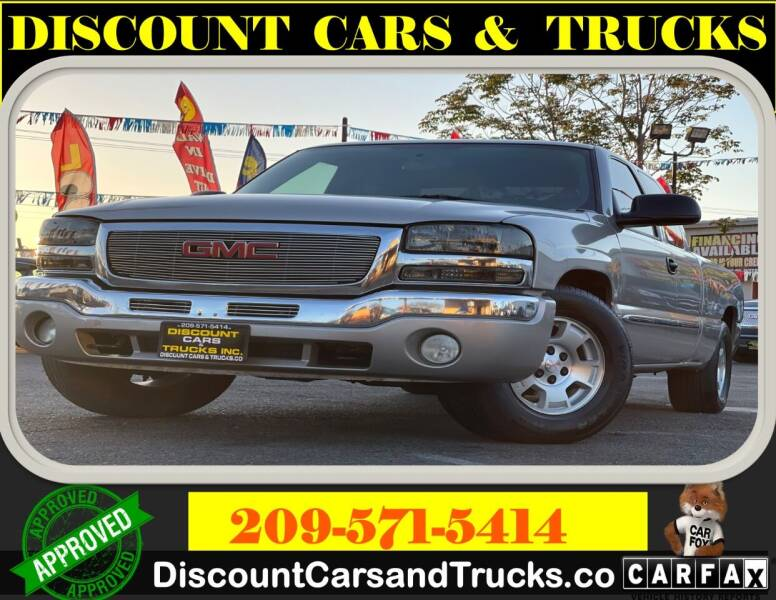2004 GMC Sierra 1500 for sale at Discount Cars & Trucks in Modesto CA
