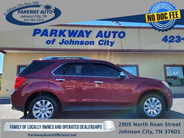 2011 Chevrolet Equinox for sale at PARKWAY AUTO SALES OF BRISTOL - PARKWAY AUTO JOHNSON CITY in Johnson City TN