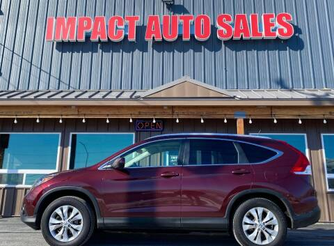 2013 Honda CR-V for sale at Impact Auto Sales in Wenatchee WA