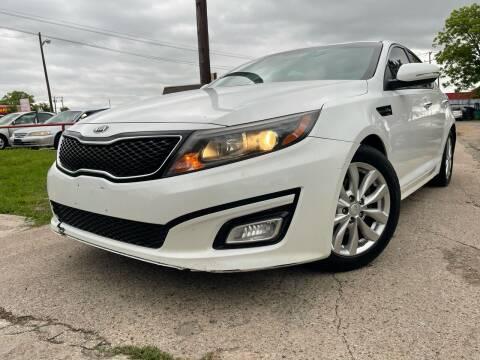 2015 Kia Optima for sale at Texas Select Autos LLC in Mckinney TX