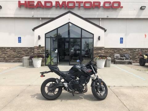 2020 Kawasaki Z650 ABS Metallic Black/Metall for sale at Head Motor Company - Head Indian Motorcycle in Columbia MO