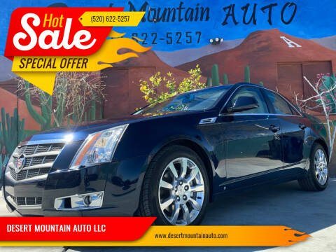 2008 Cadillac CTS for sale at DESERT MOUNTAIN AUTO LLC in Tucson AZ