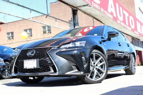 2018 Lexus GS 350 for sale at HILLSIDE AUTO MALL INC in Jamaica NY