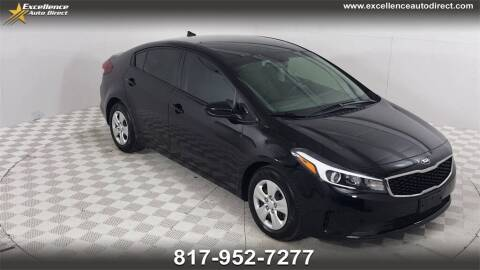 2018 Kia Forte for sale at Excellence Auto Direct in Euless TX