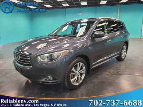 2014 Infiniti QX60 for sale at Reliable Auto Sales in Las Vegas NV