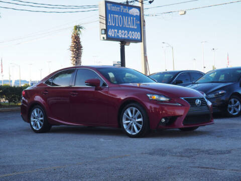 2015 Lexus IS 250 for sale at Winter Park Auto Mall in Orlando FL