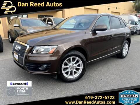 2012 Audi Q5 for sale at Dan Reed Autos in Escondido CA