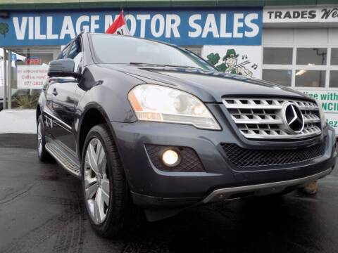 2011 Mercedes-Benz M-Class for sale at Village Motor Sales in Buffalo NY
