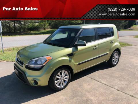 2013 Kia Soul for sale at Par Auto Sales in Lenoir NC