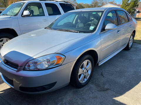 2010 Chevrolet Impala for sale at Platinum Plus Auto Sales in West Monroe LA