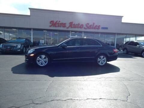 2013 Mercedes-Benz E-Class for sale at Mira Auto Sales in Dayton OH