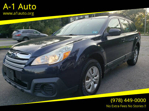 2013 Subaru Outback for sale at A-1 Auto in Pepperell MA