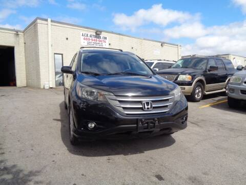 2013 Honda CR-V for sale at ACH AutoHaus in Dallas TX