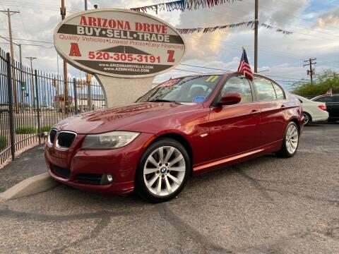 2011 BMW 3 Series for sale at Arizona Drive LLC in Tucson AZ