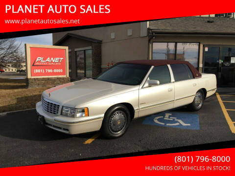 1999 Cadillac DeVille for sale at PLANET AUTO SALES in Lindon UT