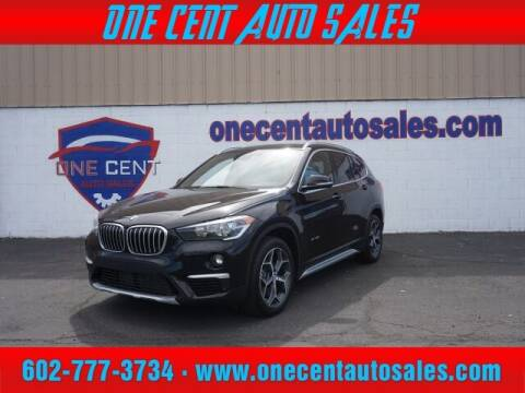 2018 BMW X1 for sale at One Cent Auto Sales in Glendale AZ