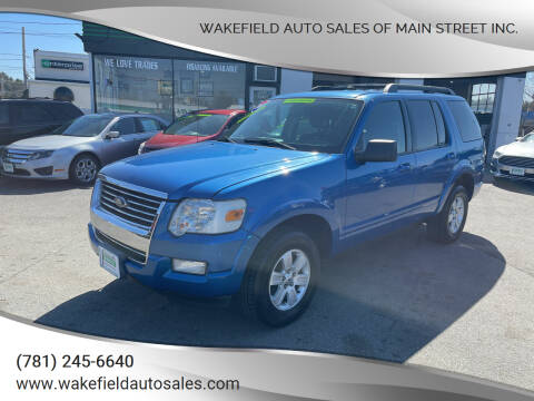 2010 Ford Explorer for sale at Wakefield Auto Sales of Main Street Inc. in Wakefield MA