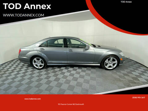 2011 Mercedes-Benz S-Class for sale at TOD Annex in North Dartmouth MA