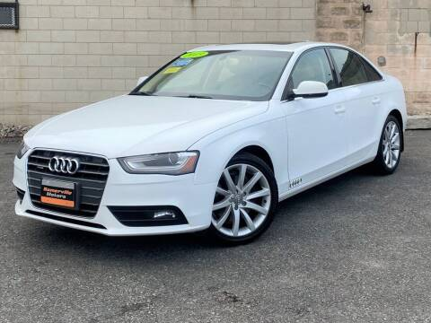 2013 Audi A4 for sale at Somerville Motors in Somerville MA