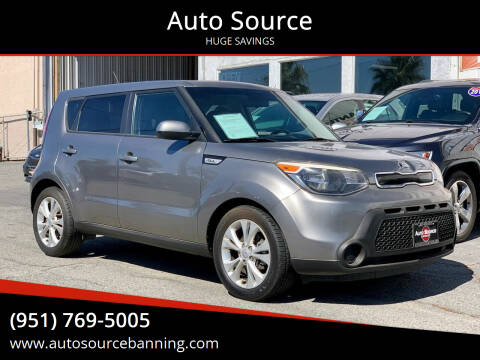 2015 Kia Soul for sale at Auto Source in Banning CA