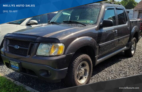 2005 Ford Explorer Sport Trac for sale at NELLYS AUTO SALES in Souderton PA