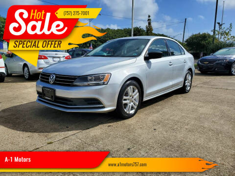 2015 Volkswagen Jetta for sale at A-1 Motors in Virginia Beach VA