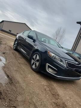 2013 Kia Optima Hybrid for sale at Born Again Auto's in Sioux Falls SD