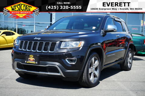 2015 Jeep Grand Cherokee for sale at West Coast Auto Works in Edmonds WA