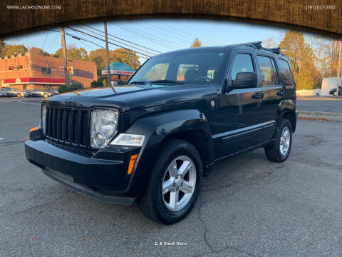 2010 Jeep Liberty for sale at L A Used Cars in Abington MA