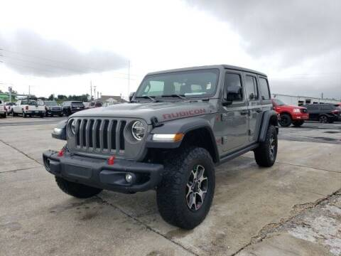 2020 Jeep Wrangler Unlimited for sale at Hardy Auto Resales in Dallas GA