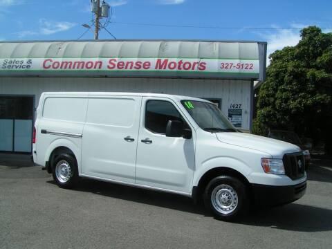 2014 Nissan NV Cargo for sale at Common Sense Motors in Spokane WA