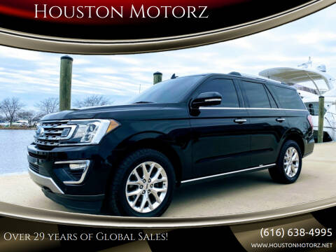 2018 Ford Expedition for sale at Houston Motorz in Nunica MI
