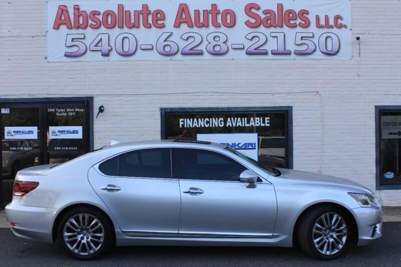2014 Lexus LS 460 for sale at Absolute Auto Sales in Fredericksburg VA