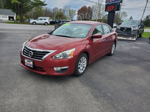 2015 Nissan Altima for sale at Excellent Autos in Amsterdam NY