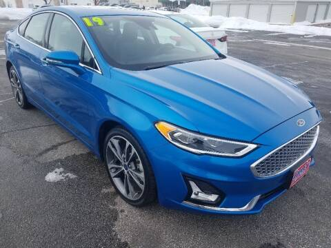 2019 Ford Fusion for sale at Cooley Auto Sales in North Liberty IA