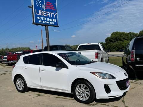 2013 Mazda MAZDA3 for sale at Liberty Auto Sales in Merrill IA