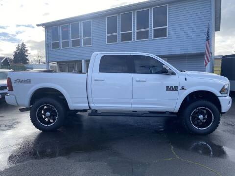 2018 RAM Ram Pickup 2500 for sale at Salem Motorsports in Salem OR