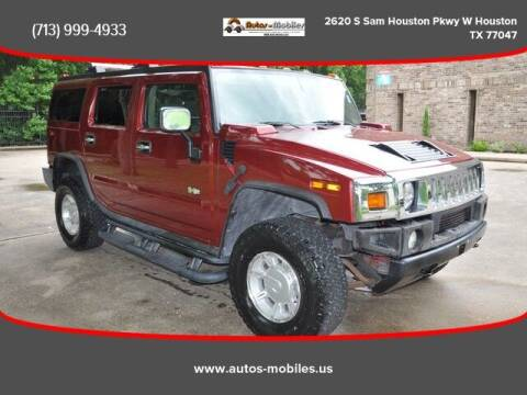 2003 HUMMER H2 for sale at AUTOS-MOBILES in Houston TX