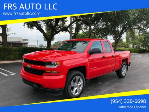 2017 Chevrolet Silverado 1500 for sale at FRS AUTO LLC in West Palm Beach FL