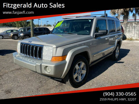 2008 Jeep Commander for sale at Fitzgerald Auto Sales in Jacksonville FL